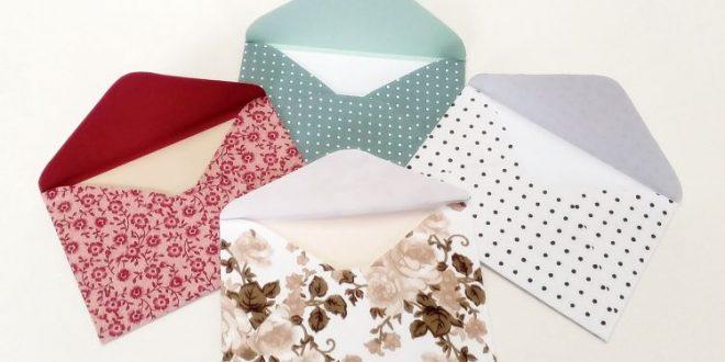 Como Fazer Envelope: Carta, Convite de Aniversário, Casamento