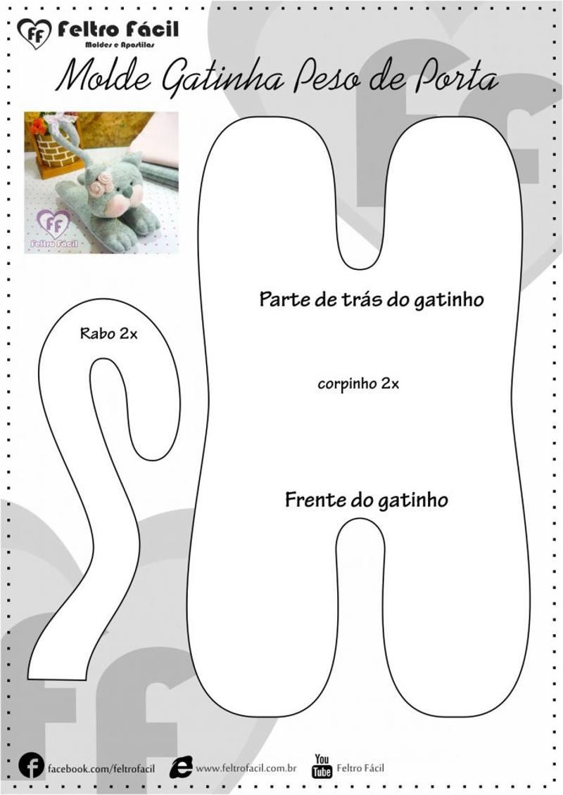 gato molde