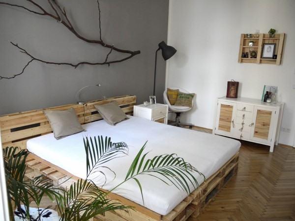 cama com paletes