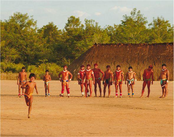 brincadeiras indígenas