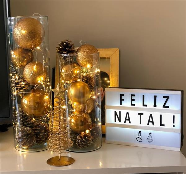 Tendências de decoração de Natal 2020