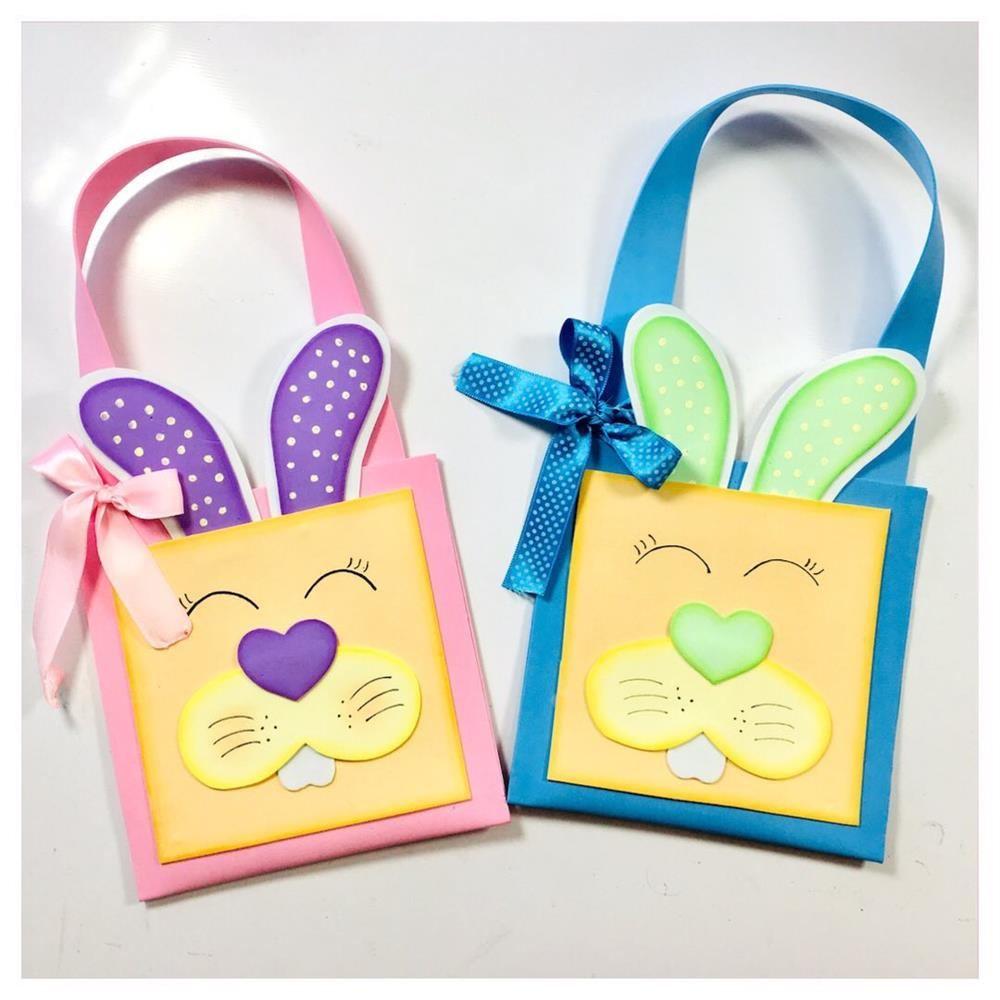sacola de coelho artesanal