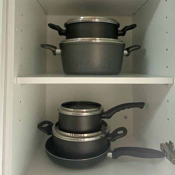 organizar armário de cozinha pequeno
