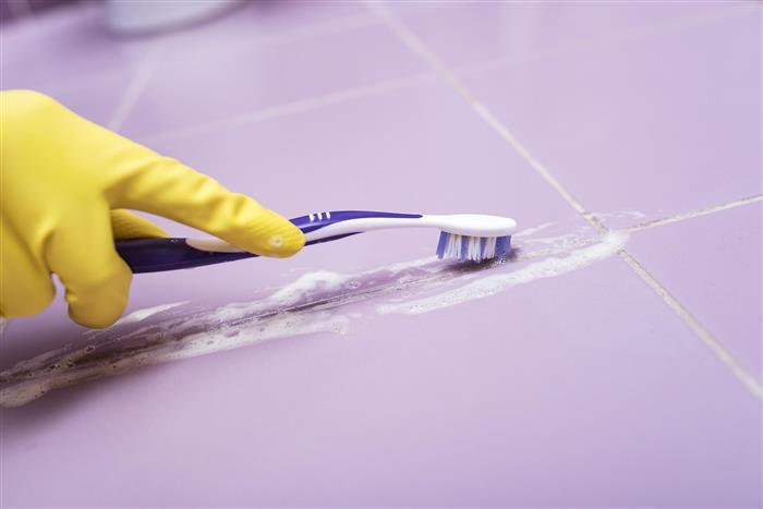 como limpar rejunte de banheiro porcelanato