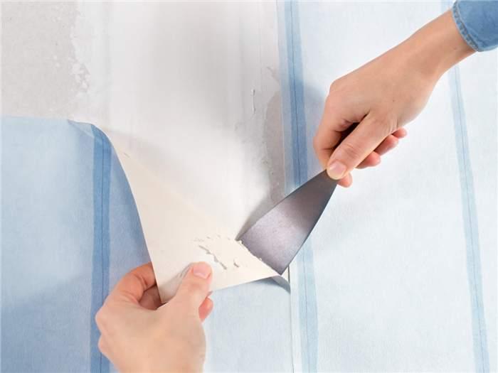retirar papel de parede