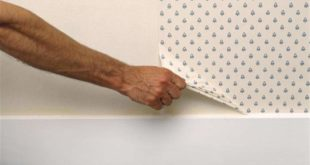 como tirar papel de parede velho